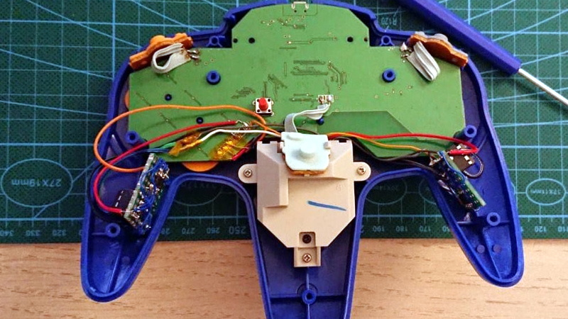 Perfecting a Bluetooth N64 Controller