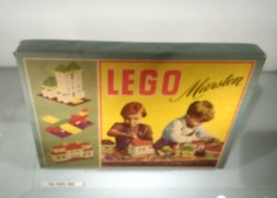 Some of the earliest Lego brick sets.