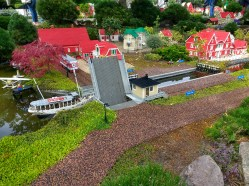 The miniature towns have plenty of impressive feats of automation to study.