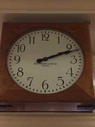self winding clock NYC 1