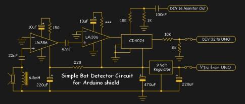 ArduBat schematic by Tony Messina