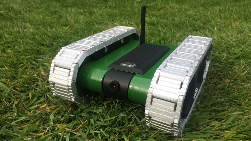 This FPV Tank Explores The Lawn