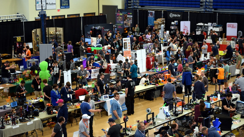 East Coast RepRap Festival Comes Alive In Second Year
