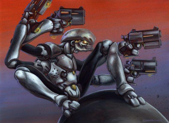 Poltek-Gunbot