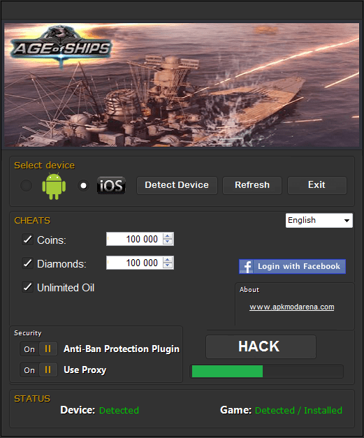 Age of Ships Cheats Hack Tool