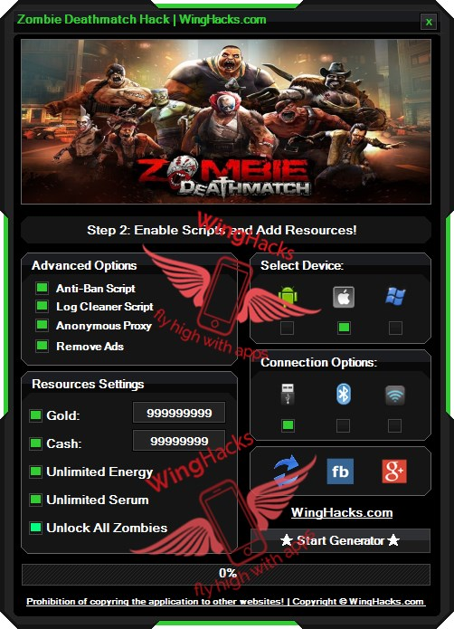 Zombie Deathmatch Hack Codes Cheat Download APK IPA which is 100% safe and easy to use