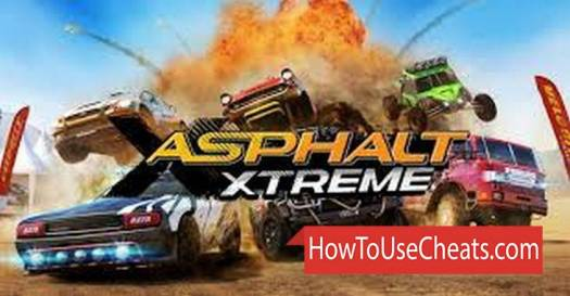 Asphalt Xtreme how to use Cheat Codes and Hack Tokens and Credits