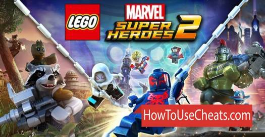 LEGO Marvel : Super Heroes how to use Cheat Codes and Hack Characters