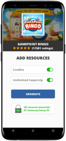 GamePoint Bingo MOD APK Unlimited Credits Supervip