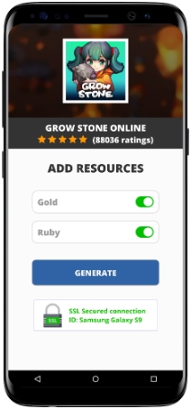 Grow Stone Online MOD APK Unlimited Gold Ruby