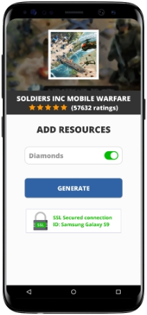 Soldiers Inc Mobile Warfare MOD APK Unlimited Diamonds