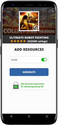 Ultimate Robot Fighting MOD APK Unlimited Gold
