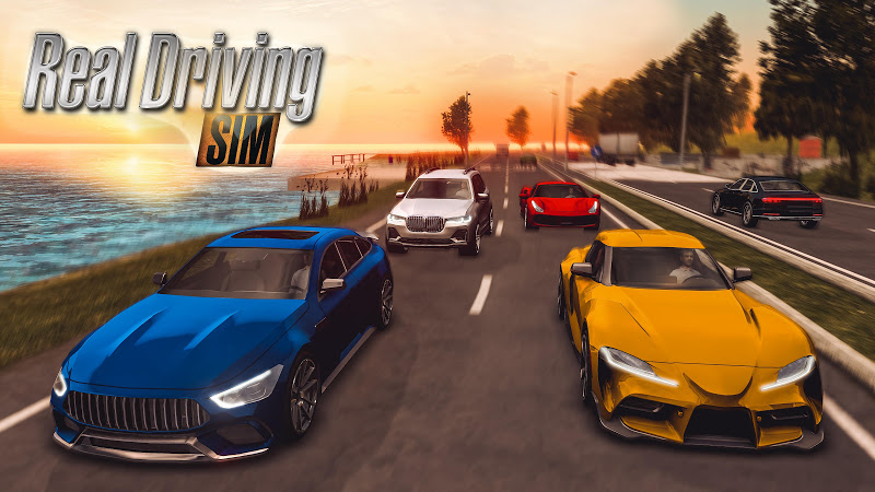 Real Driving Sim (MOD, Unlimited Cash/Coins/Unlocked)