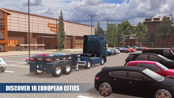Truck Simulator PRO Europe (MOD, Unlimited Money)