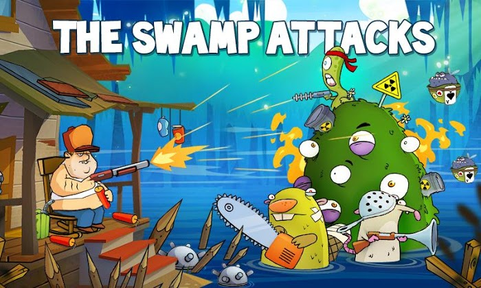Swamp Attack MOD money/energy/unlocked
