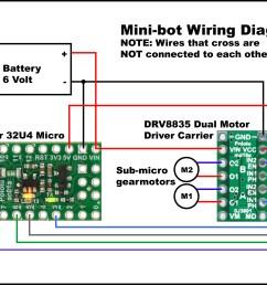 mini bot wiring diagram [ 4038 x 3038 Pixel ]