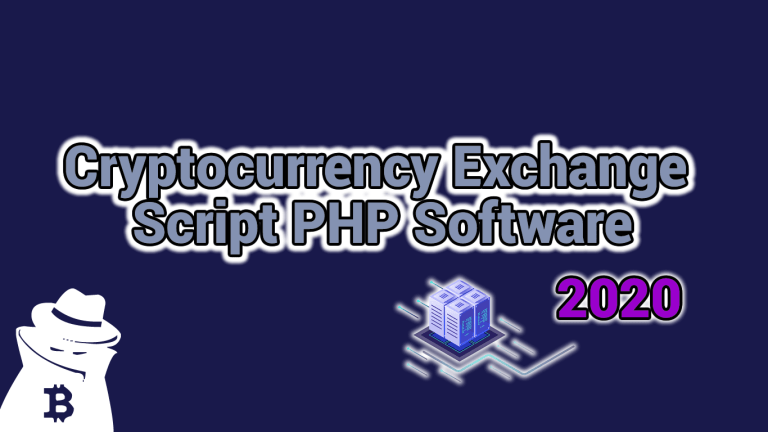 Cryptocurrency Exchange Script PHP Software 2021