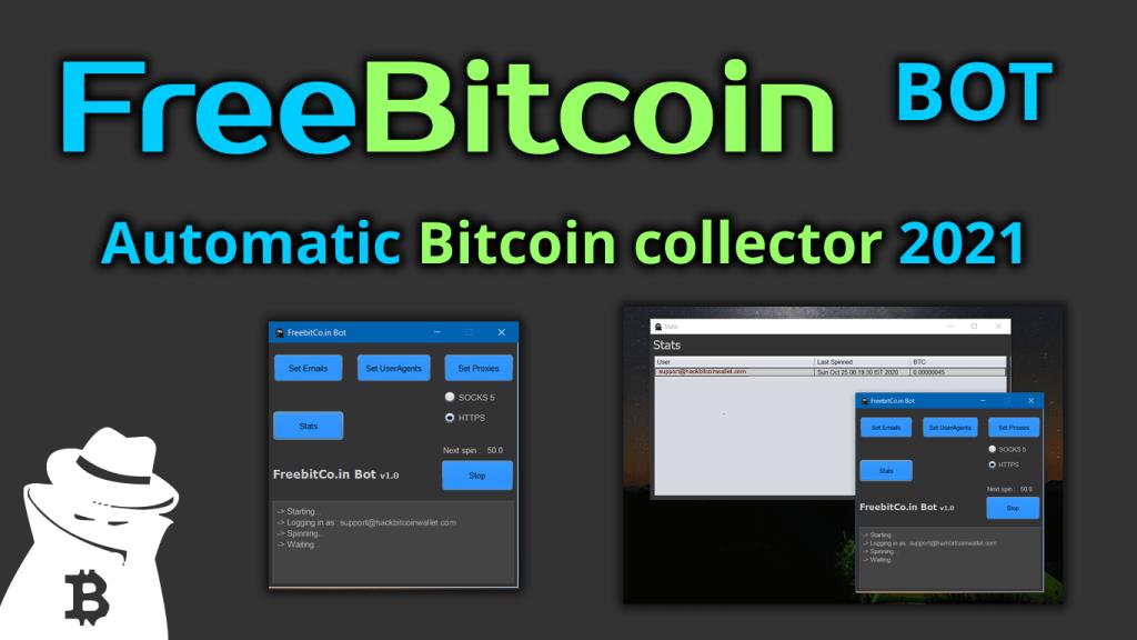 ✅FreeBitco.in BOT 🤖 automatic Bitcoin collector 💰 2021