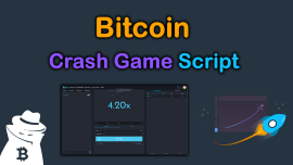 Bitcoin Crash Game Script 2021