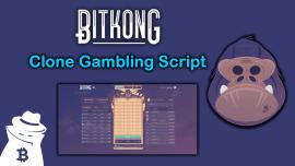 BitKong Clone Gambling Script 2021