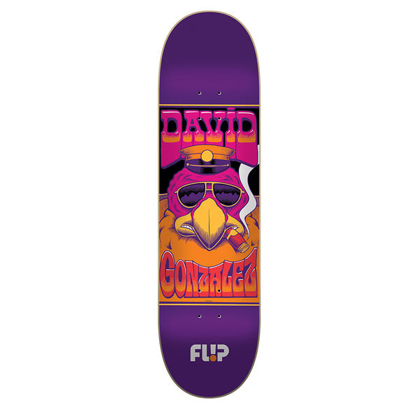 "Flip Skateboards Gonzalez Mercenaries 8.0"" Deck"