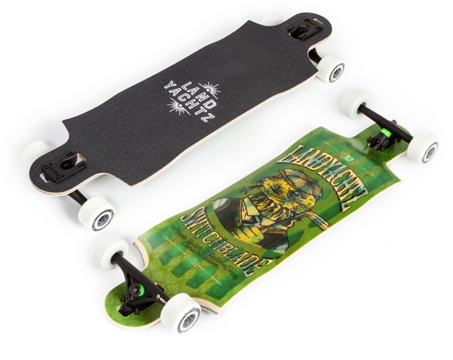 "Landyachtz Switchblade 36"" Lizard Hollowtech 2016 Deck"