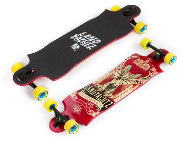 Landyachtz Switchblade 36″ Maple Jackalope 2016 Deck
