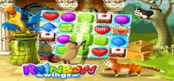 Rainbow Wings MOD 1.0.3 (Hack,Unlimited Coins+Boosters) Apk