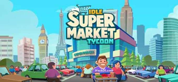 Idle Supermarket Tycoon Mod Unlimited Coin Apk