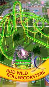 RollerCoaster Tycoon Touch mod apk latest version