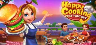 Happy Cooking: Chef Fever Mod Apk 1.3.0 (Hack, Unlimited Money)