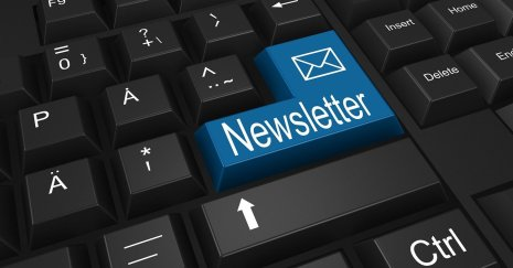 newsletter, keyboard, send, HC Blickwinkel