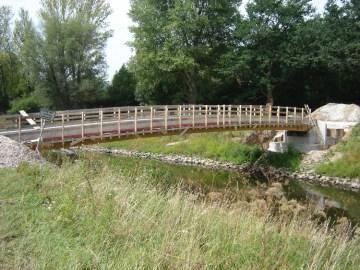 Die neue Brücke (im Juli 2012)