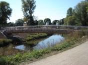 Die fertige Brücke (September 2012)