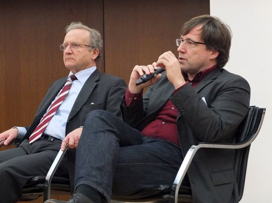Dr. Roland Gerschermann (li.) und Boris Tomic (re.)