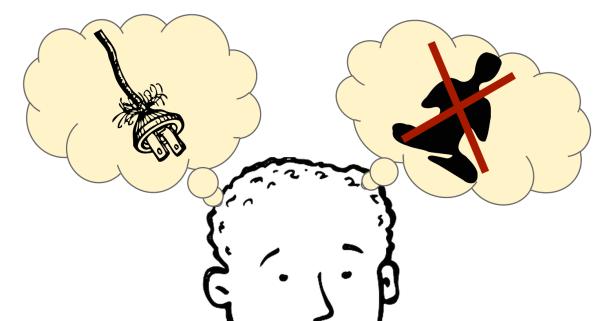 Meditation vs. electrical shock