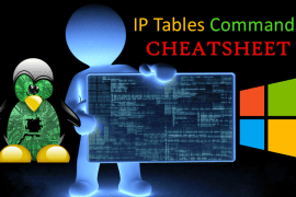 IPtables Commands Cheatsheet