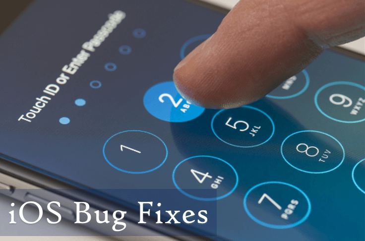 Bug Fixes in iOS Devices