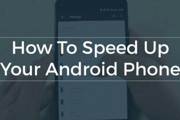 Phone Speed Up