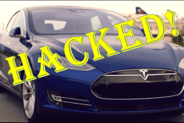 Tesla Car Hacked