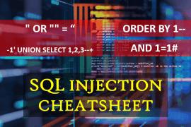 SQL Injection Cheatsheet