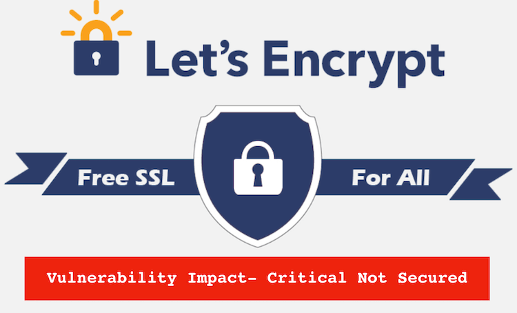 Lets Encrypt Vulnerable