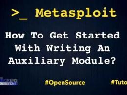 Metasploit Auxilary Module