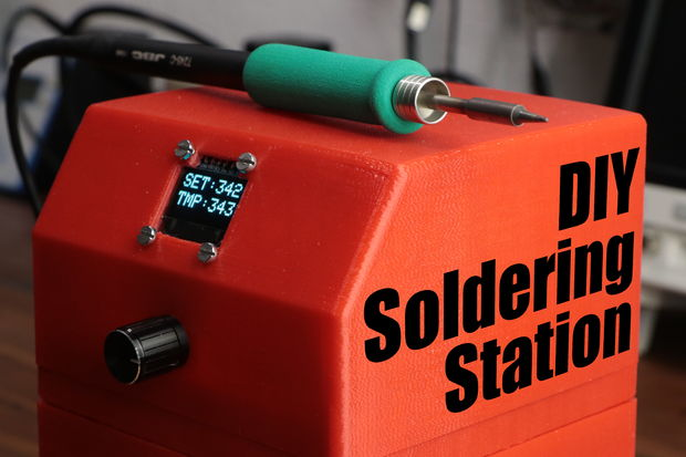 On YouTube: DIY Soldering Station via Great Scott
