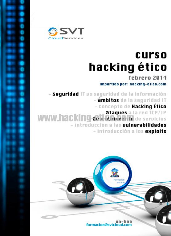 Cursos de seguridad informática y hacking ético