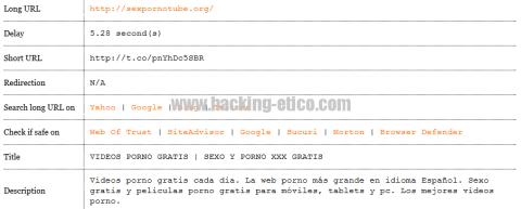 El peligro de las URL acortadas