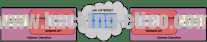Aplicación - Socket - Paquete - Socket - Aplicación