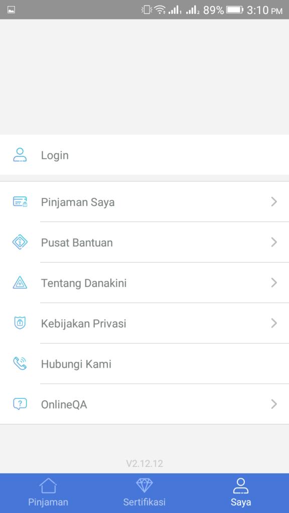 ScreenShot of Danakini Apk