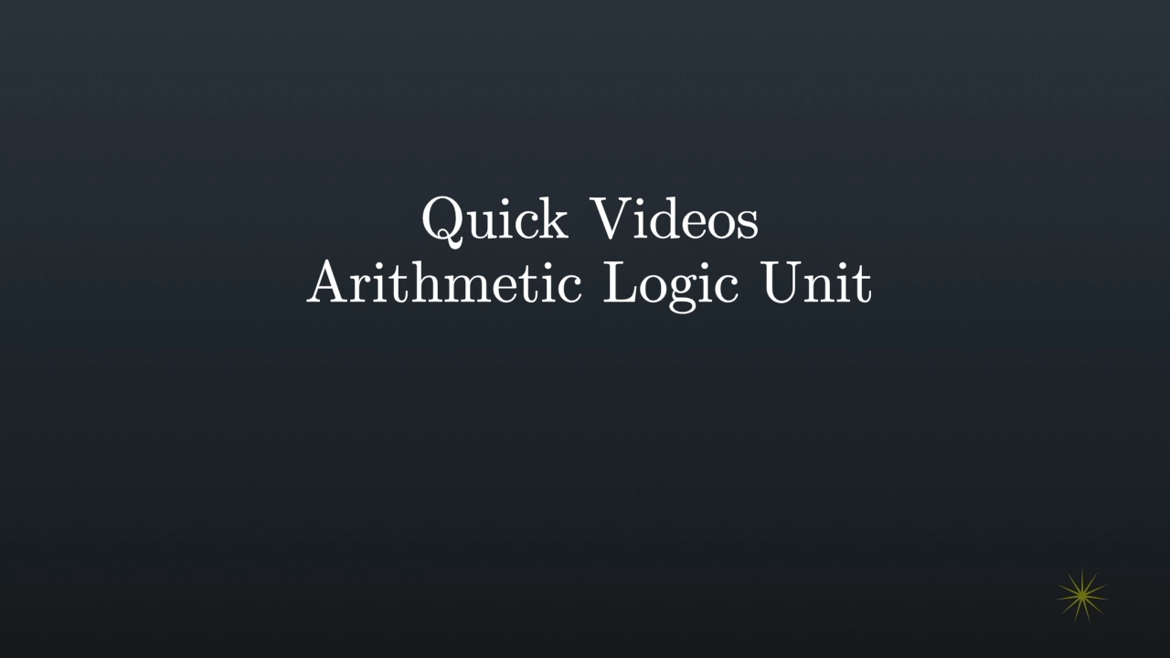 hight resolution of announcing a new quick video building an alu