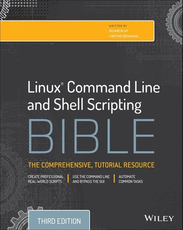 linux-command-line-and-shell-scripting-bible
